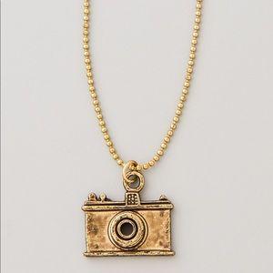 Maison Scotch Camera Necklace